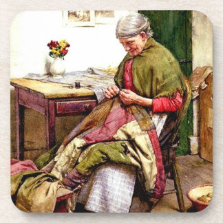 The Old Quilt - Walter Langley Coaster