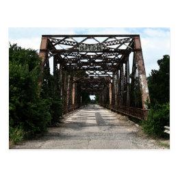 The Old River Bridge Postcard