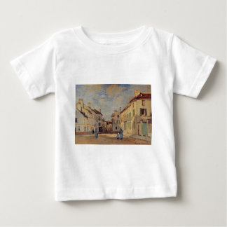The Old Rue de la Chaussee, Argenteuil by Claude Baby T-Shirt