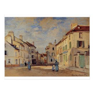 The Old Rue de la Chaussee, Argenteuil by Claude Postcard