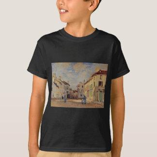 The Old Rue de la Chaussee, Argenteuil by Claude T-Shirt