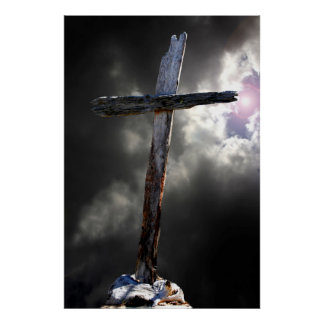 The Old Rugged Cross Poster