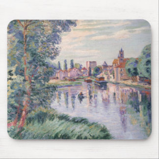 The Old Samois, c.1900 (oil on canvas) Mouse Pad