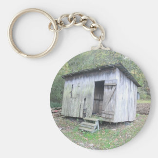 The Old Shed Basic Round Button Keychain