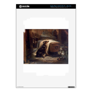 The Old Shepherd's Chief Mourner by Edwin Henry Decals For iPad 3