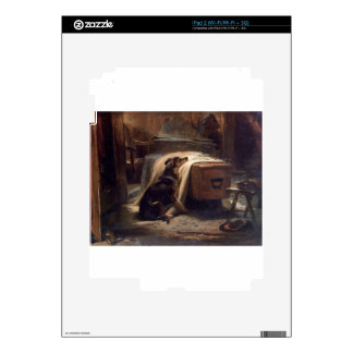 The Old Shepherd's Chief Mourner by Edwin Henry iPad 2 Decals