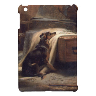 The Old Shepherd's Chief Mourner by Edwin Henry iPad Mini Case