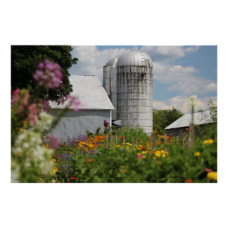 The Old Silo Print