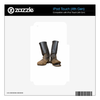 The old soldiers boots decal for iPod touch 4G