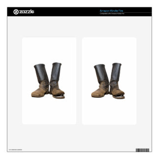 The old soldiers boots decal for kindle fire