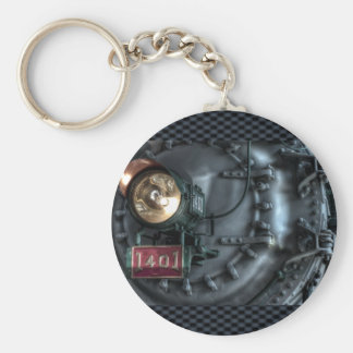 The Old Southern Railway Basic Round Button Keychain