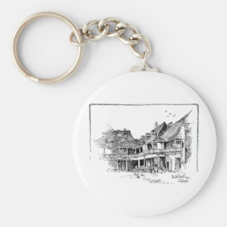 The Old Tabard Inn Keychain
