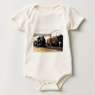The Old The New St. Clair Tunnel Company Baby Bodysuit