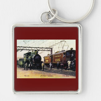 The Old The New St. Clair Tunnel Company Keychain