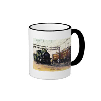 The Old The New St. Clair Tunnel Company Ringer Mug