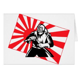 The Old Tokyo Sandblaster Card