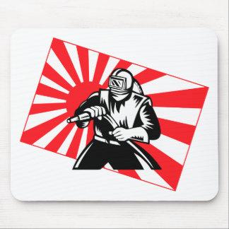 The Old Tokyo Sandblaster Mouse Pad
