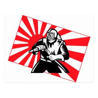 The Old Tokyo Sandblaster Postcard