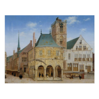 The old town hall of Amsterdam - 1657 Postcard