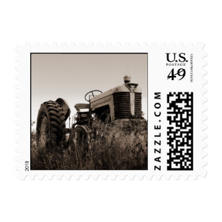 The Old Tractor Postage Stamps