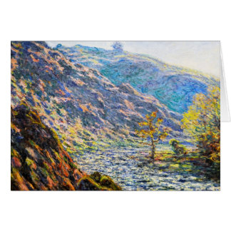 The Old Tree at the Confluence Claude Monet Card