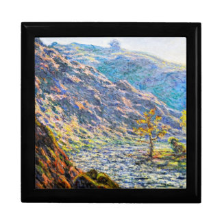 The Old Tree at the Confluence Claude Monet Keepsake Box