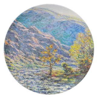 The Old Tree at the Confluence Claude Monet Plate
