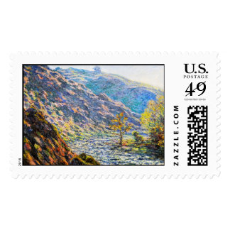 The Old Tree at the Confluence Claude Monet Postage