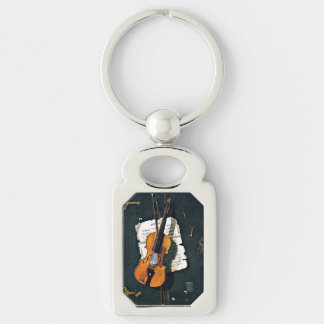The Old Violin Keychain
