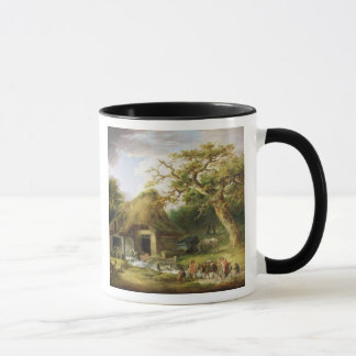 The Old Water Mill, 1790 (oil on canvas) Mug
