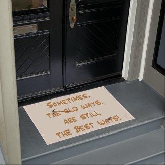The Old Ways Doormat