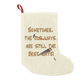 The Old Ways Small Christmas Stocking