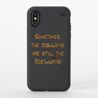The Old Ways Speck iPhone Case