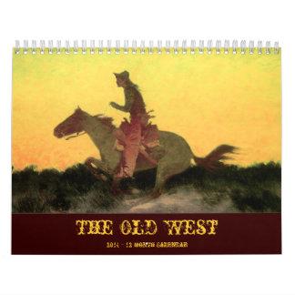 The Old West 2014 Calendar