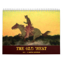The Old West 2014 Calendar