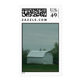 The Old White Barn Postage