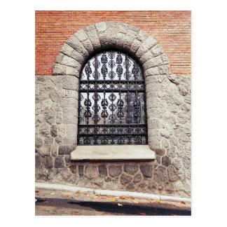 The Old Window Postcard