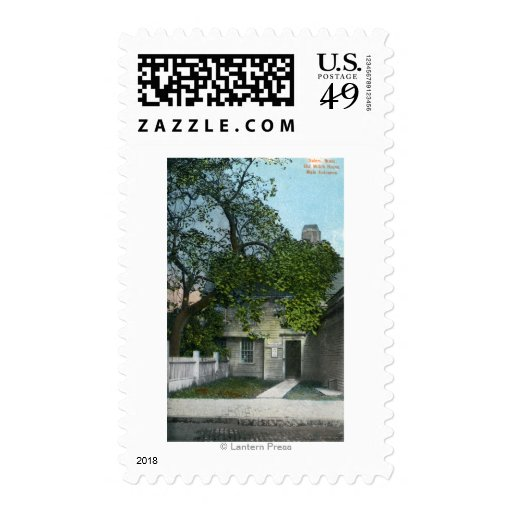 The Old Witch House, Main Entrance Postage Stamps