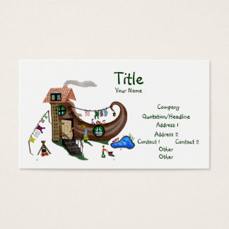 The Old Woman In The Shoe Business Card