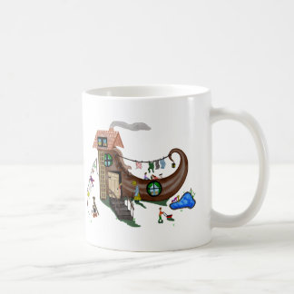 The Old Woman In The Shoe Coffee Mug