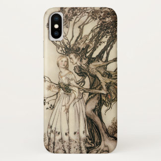 The Old Woman in the Wood by Arthur Rackham iPhone X Case