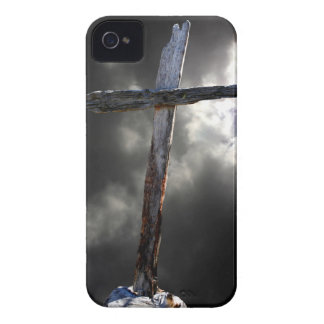 The Old Wooden Cross iPhone 4 Cases