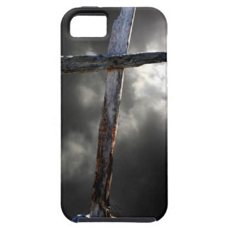The Old Wooden Cross iPhone 5 Case