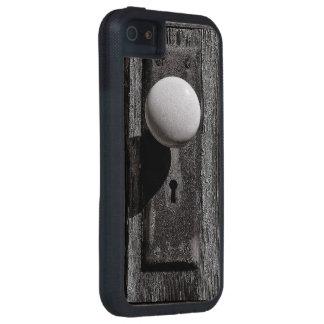 The old wooden door iPhone 5 covers