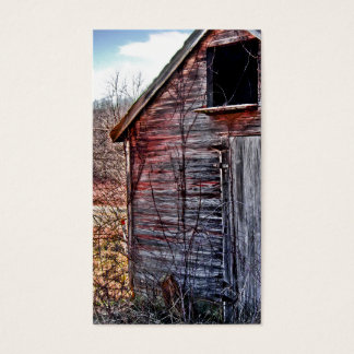 THE OLD WOODEN SHED BUSINESS CARD
