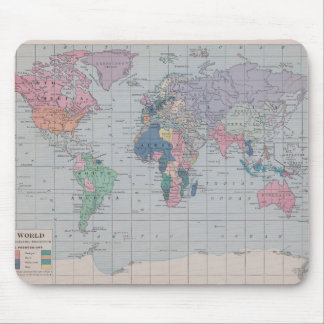 The Old World Vintage Map Collection Mouse Pad