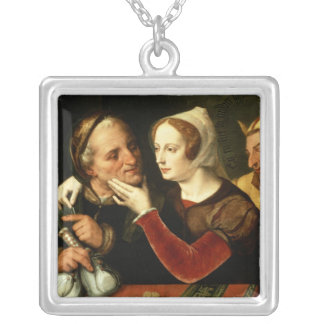 The Older One Becomes, The Madder One Becomes Silver Plated Necklace