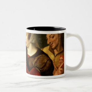 The Older One Becomes, The Madder One Becomes Two-Tone Coffee Mug
