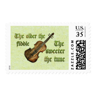 The Older the Fiddle, The Sweeter the Tune Postage