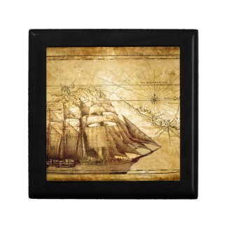The Oldest World Map Ship Gift Box
